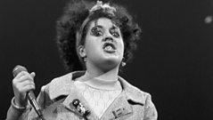 Poly Styrene on individuality.