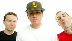 "Tom Delonge from blink-182 on new single ""Up All Night"""