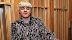 Robyn in the Live Lounge