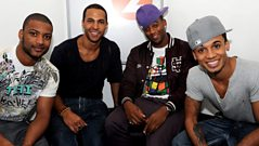Boyband JLS In Conversation with Steve, Tim and Janey