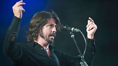 Foo Fighters - T In The Park clip highlights