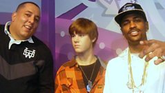 Semtex takes Big Sean to Madame Tussauds