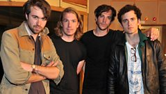 The Vaccines in the Live Lounge