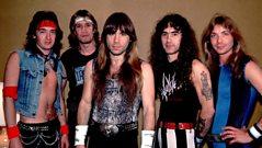 Bruce Dickinson of Iron Maiden on the Heavy Metal wardrobe
