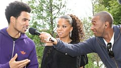 Ms Dynamite and Akala play the Kings and Queens Quiz