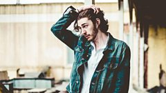 Hozier in session for Jo Whiley