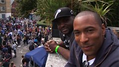 Ms Dynamite & guests join Ace & Vis from Notting Hill Carnival