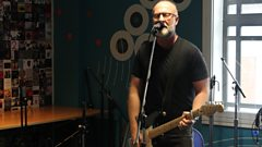 Bob Mould in session for Lauren Laverne