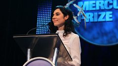 PJ Harvey wins the Mercury Prize 2011