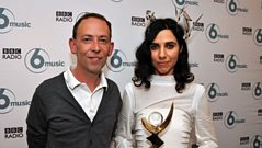 PJ Harvey talks to Steve Lamacq after winning the Mercury Prize 2011