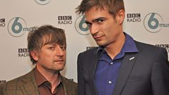 King Creosote & Jon Hopkins - Interview with Steve Lamacq