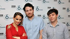 Anna Calvi and Metronomy - Interview with Steve Lamacq