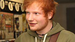 Ed Sheeran is at No.1