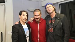 Red Hot Chili Peppers interview pt.1