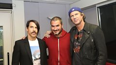 Red Hot Chili Peppers interview pt.2