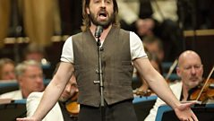 Alfie Boe performs The First Time I Saw Your Face for Last Night Of The Proms