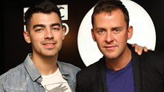 Joe Jonas meets Scott Mills