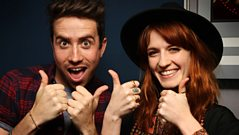 Florence Welch chats with Grimmy