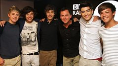 One Direction chat to Scott Mills on the phone
