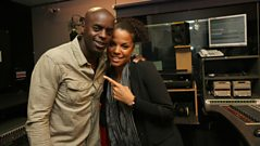 Ms Dynamite is live in the studio talking to Trevor.