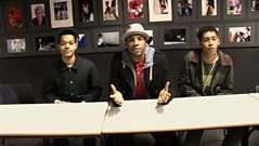 Reggie Goes Back To School With Rizzle Kicks!