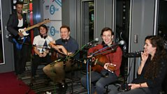 Bombay Bicycle Club play live in the studio