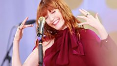 Nick Grimshaw - Wednesday: Florence Welch Spends The Night