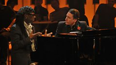 Nile Rodgers chats to Jools Holland