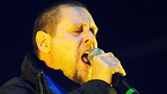 Shaun Ryder on Happy Mondays