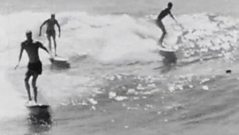 Summertime surfing