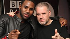 Jason Derulo live with Chris Moyles
