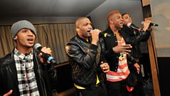 Fearne Cotton - Friday: JLS in the Live Lounge