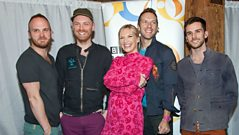 Coldplay talk to Jo Whiley at Dingwalls