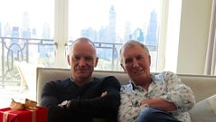 Sting - Interview highlights with Johnnie Walker