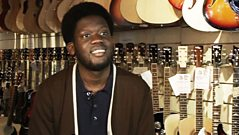 Sound of 2012 - Michael Kiwanuka's favourite guitar shop