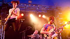 Pulled Apart By Horses - Interview with Fearne Cotton