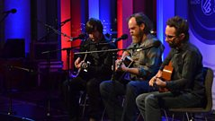 Will Johnson, Jay Farrar and Anders Parker perform Chorine