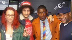 Labrinth, Etta Bond and Raff Riley - Interview with Ronnie Herel