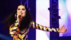Jessie J  drops in to chat about Radio 1's Hackney Weekend 2012
