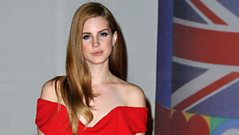 Lana Del Rey - at the BRITs 2012 with Jo Whiley