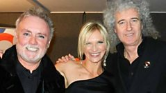 Queen - at the BRITs 2012 with Jo Whiley