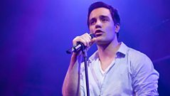 Ramin Karimloo speaks to Barbara Windsor