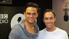 Gareth Gates chats with Aled
