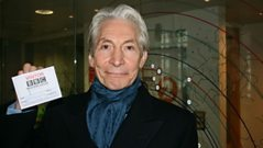 Charlie Watts chats to Steve Wright
