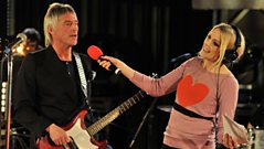 Paul Weller sings Happy Birthday to 6 Music