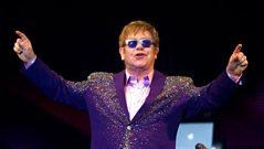 Elton John speaks to Zane Lowe
