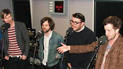 Futureheads - Interview and Acappella Session