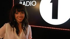 Carly Rae Jepsen joined Nick Grimshaw to sing her No 1 song