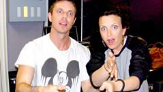 Jake Shears live with Annie Mac