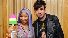 Nick Grimshaw chats with Nicki Minaj